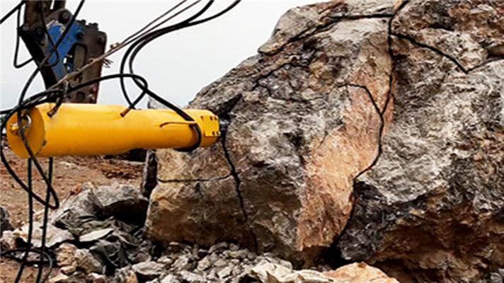 露天煤矿劈裂设备分石机——震山斧(玉溪峨山)