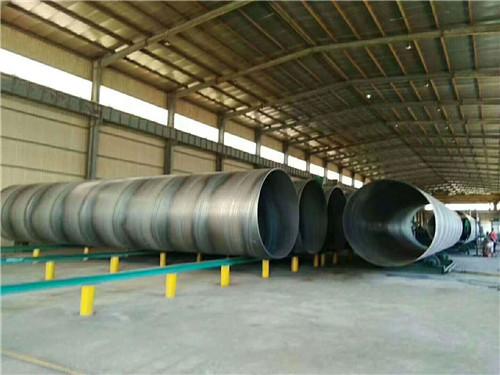 厂家现货:市政排污管道用螺旋钢管生产厂家富拉尔基