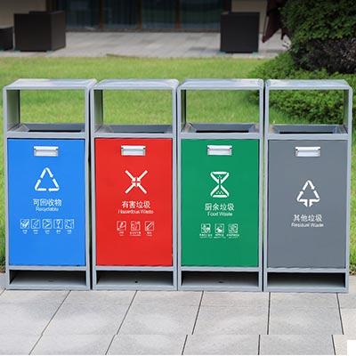 云南红河街道垃圾桶公司-西安垃圾桶厂家