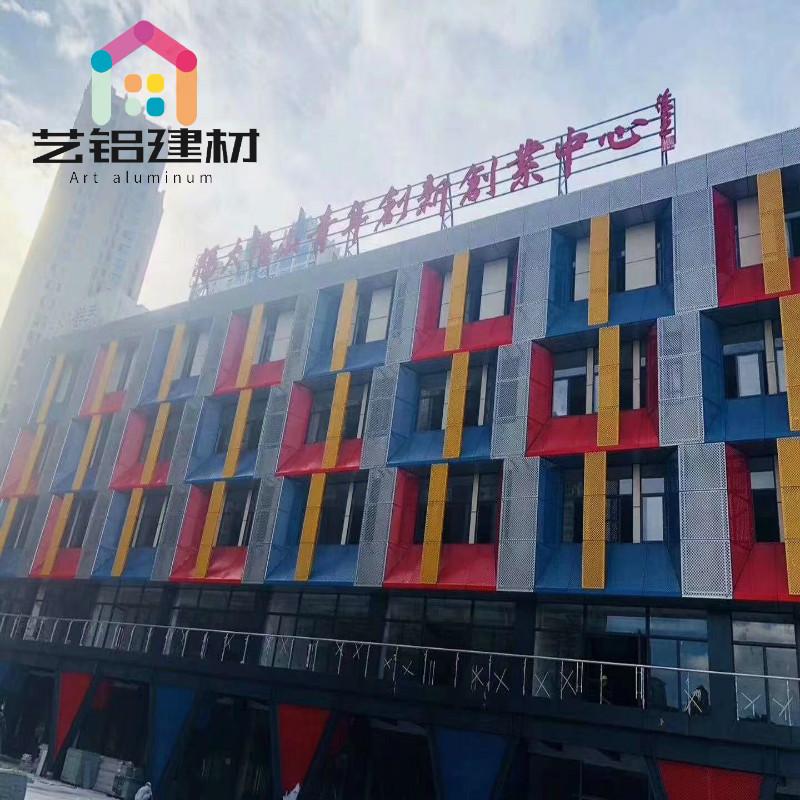 晋城波浪铝方通厂家质量保证——找艺铝建材