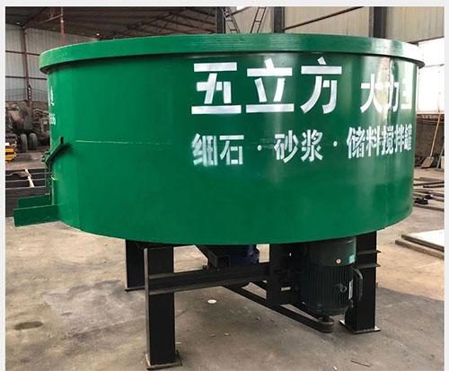 梅州一立方细石储料搅拌机装置