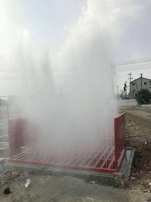建筑工地洗轮机修水