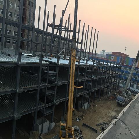 聊城阳谷彩钢瓦防腐公司——环保施工