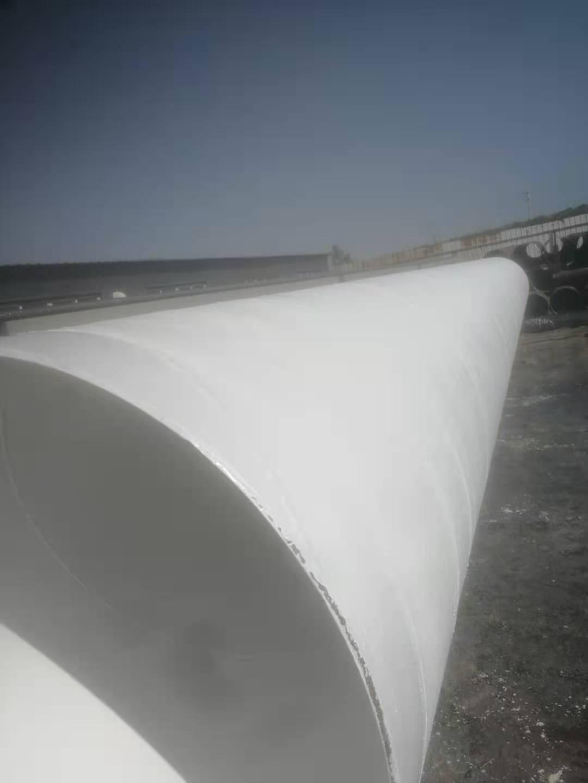 污水排放用直径820螺旋焊接钢管吨价/