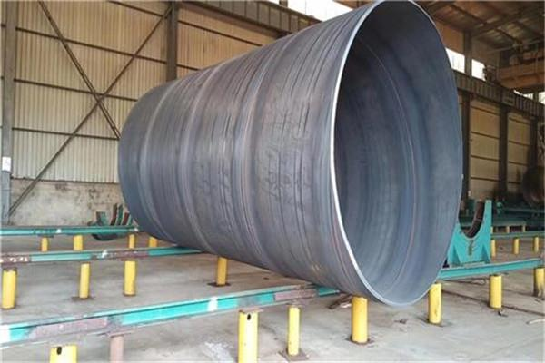 DN600法兰连接螺旋钢管生产企业/