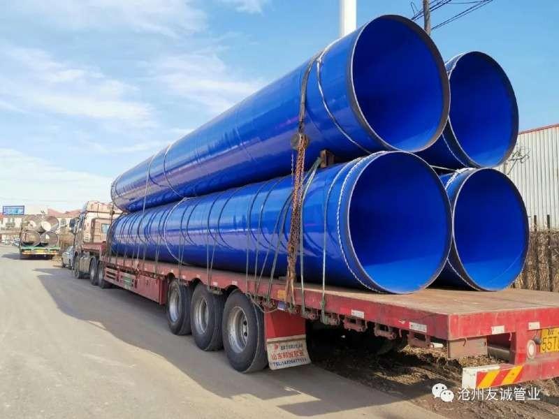 DN1000*12给水用防腐螺旋钢管