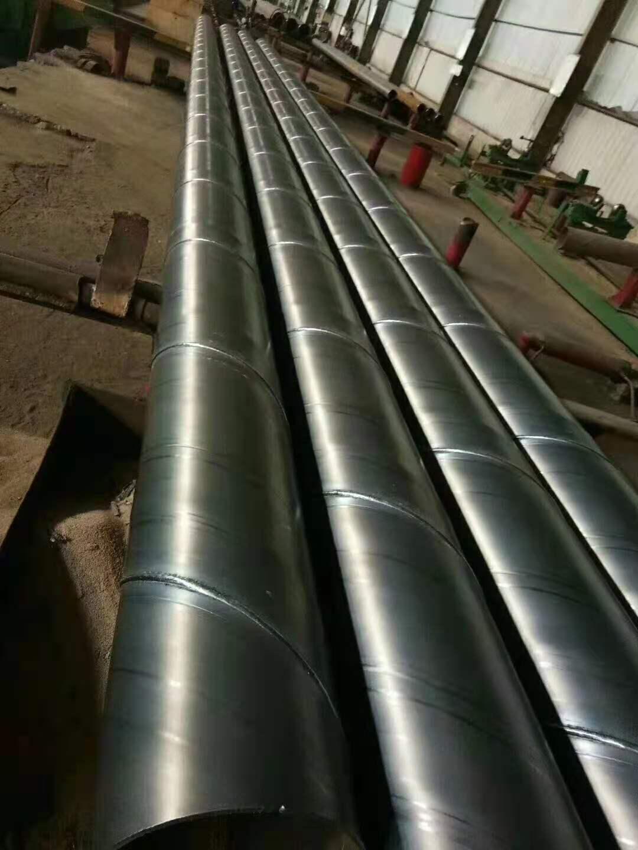 水利工程用大口径焊接钢管在厂改制/