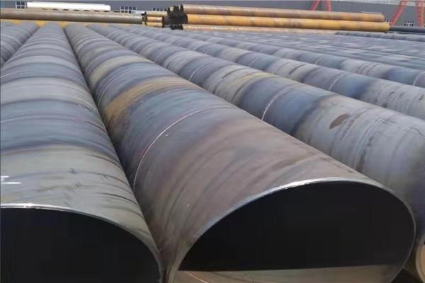 污水排放用DN2400螺旋焊接钢管市场价/
