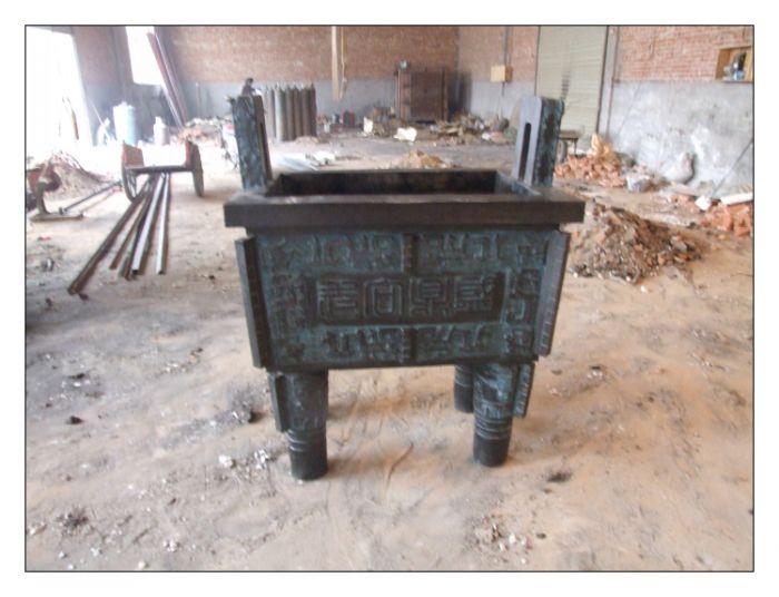 烤漆铜香炉雕塑厂家-电镀铜香炉雕塑厂家-异形铜香炉雕塑厂家-安徽朋利雕塑