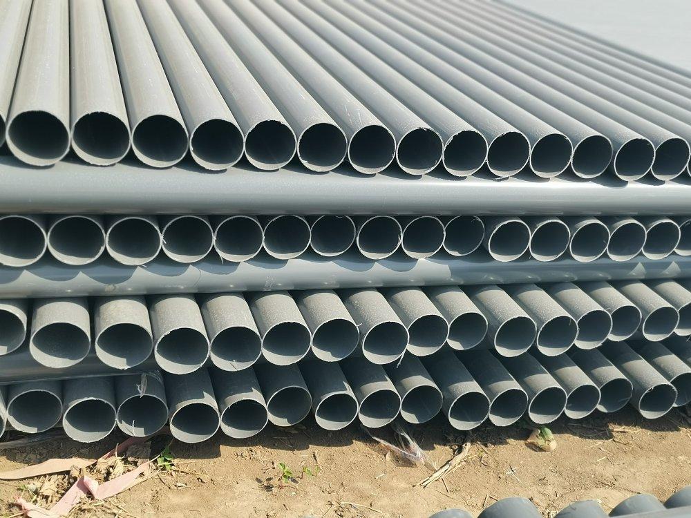 七台河市桃山区PVC灰色打井管价格