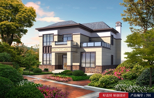 戚墅堰区农村自家院子设计图片_设计到满意为止_专注自建房设计15年