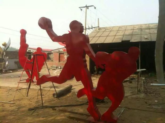 铸铜体育雕塑厂家【标识雕塑】湖北景区体育雕塑厂家