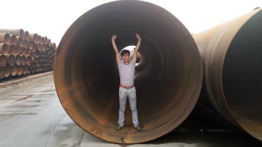 石景山Q235B螺旋缝埋弧焊接钢管制造厂家{价格便宜有现货}