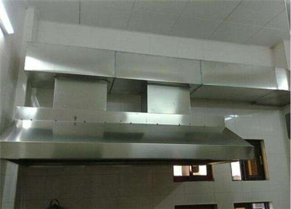 合肥饭店白铁皮油烟罩 - 上门设计加工定做咨询热线