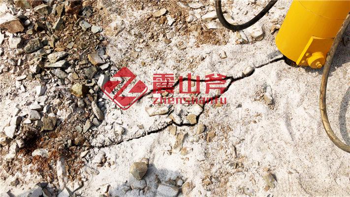 矿用大型岩石破裂器优惠价格_郴州永兴