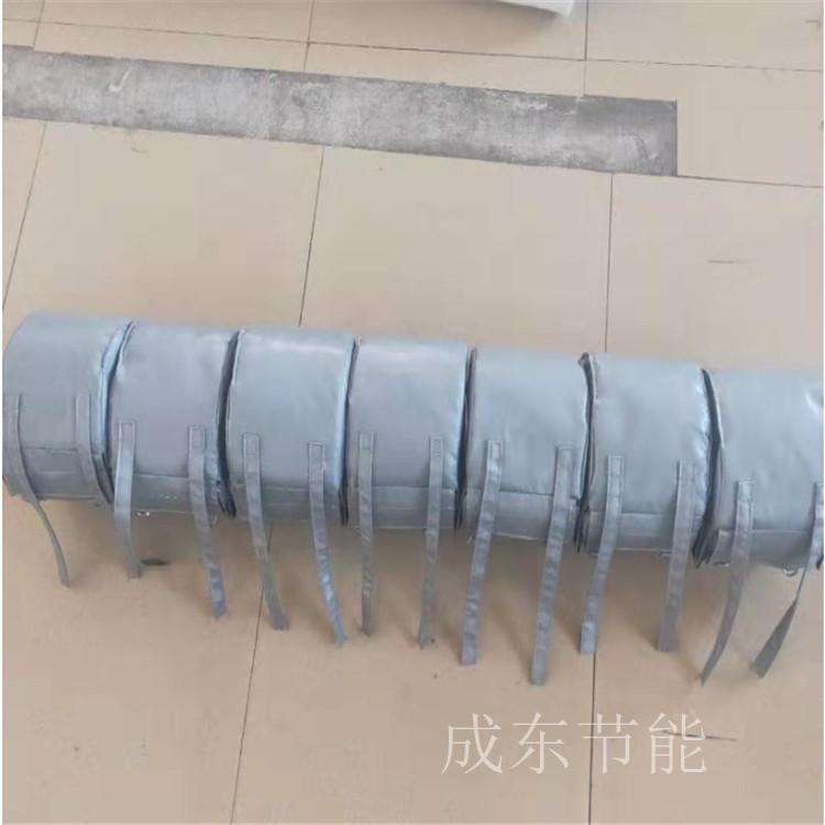 山东省东营市----可拆卸式软质制药阀门防火套厂家供应_成东节能