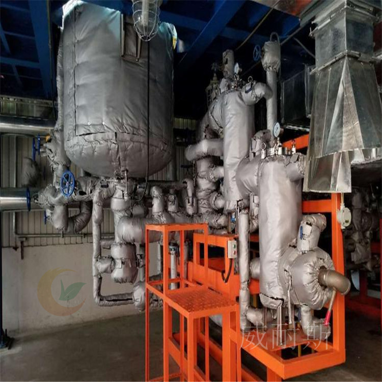 大丰---柔性可拆卸式调料厂设备防火罩---耐高温(威耐斯)