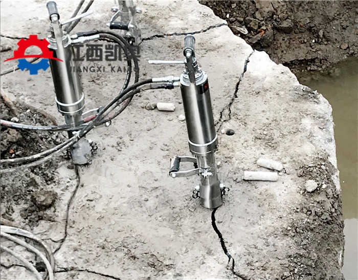 辟裂机的使用液压劈裂机厂家货源