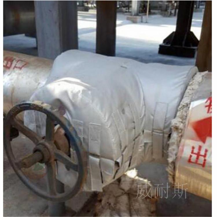 甘肃省庆阳市---管道保温套耐高温:(威耐斯科技)