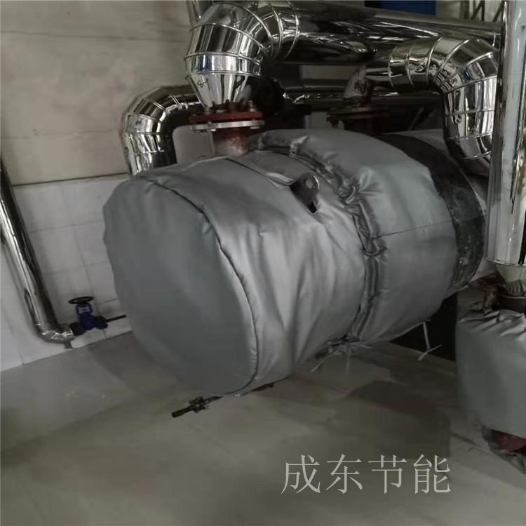 河北廊坊_可拆卸软体造纸厂管道隔热夹套---价格行情:@成东节能