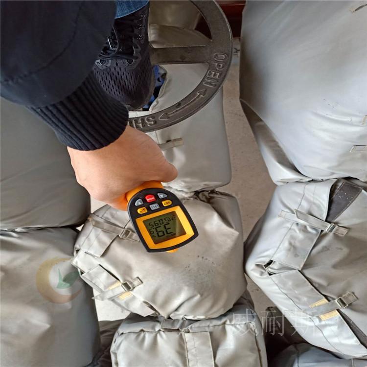 辽宁省葫芦岛市---可拆卸式软质反应釜隔热被_诚信商家@威耐斯