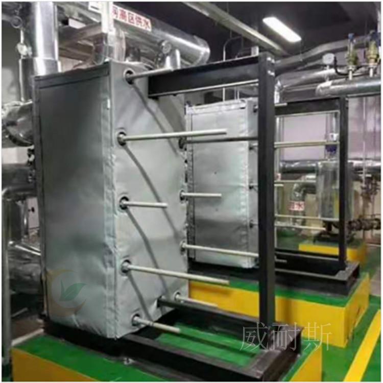 敦煌---柔性可拆卸式换热站板换隔热被---更在行@威耐斯科技