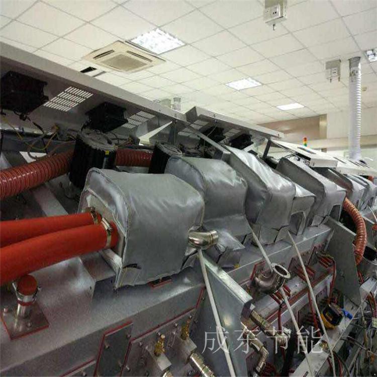 ---北海:可拆卸换热站电动阀防火套定做【成东节能】