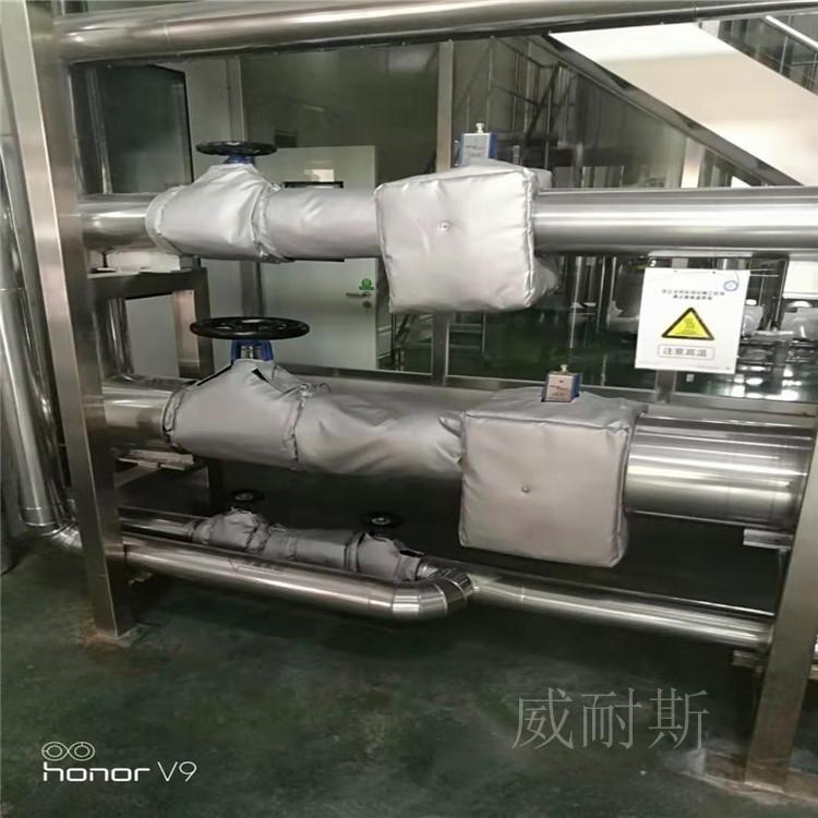 九台市---板式换热器软保温套生产厂家:(威耐斯科技)