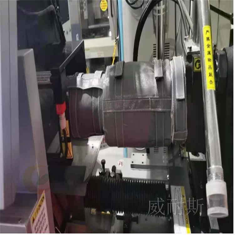 乐昌---硫化机软管保温夹套服务周到:(威耐斯科技)