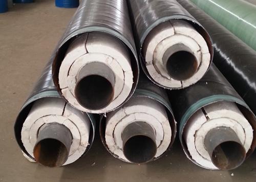 推荐供暖用钢套钢保温管新建