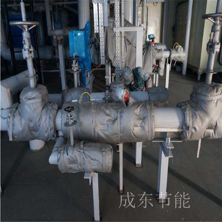 黑龙江齐齐哈尔市:工业电加热可拆卸式保温罩厂家供货_成东节能