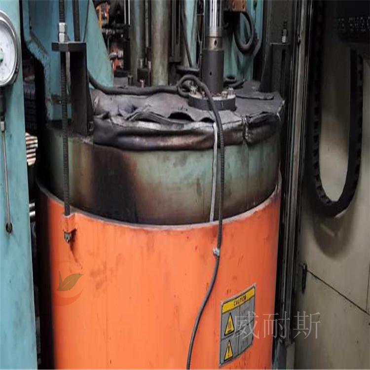 开:软质可拆卸管式换热器保温套保温效果【威耐斯科技】