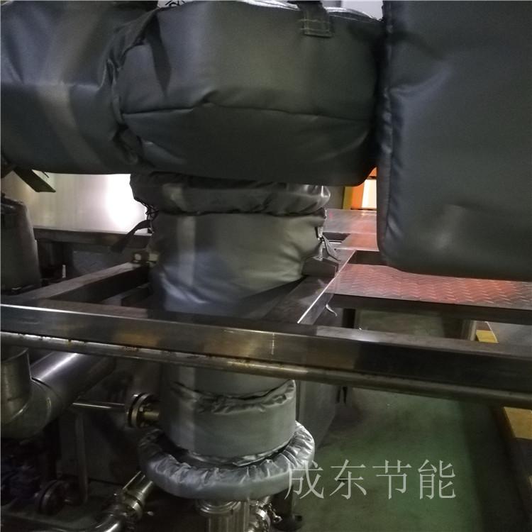 辽宁省朝阳市_软体轮胎厂管道隔热马甲:的价格---【成东节能】