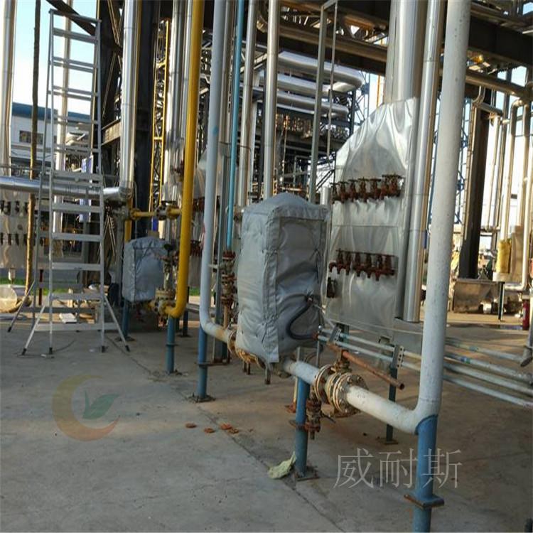 湖北省鄂州:柔性可拆卸式换热器节能套---服务_威耐斯科技