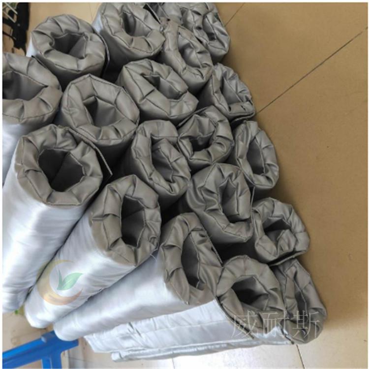 ---泰州市可拆卸式软体集油管道保温马甲隔热---【威耐斯 质量好】