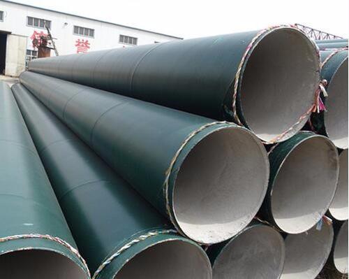 供水管线用Q235A螺旋钢管怎么做防腐