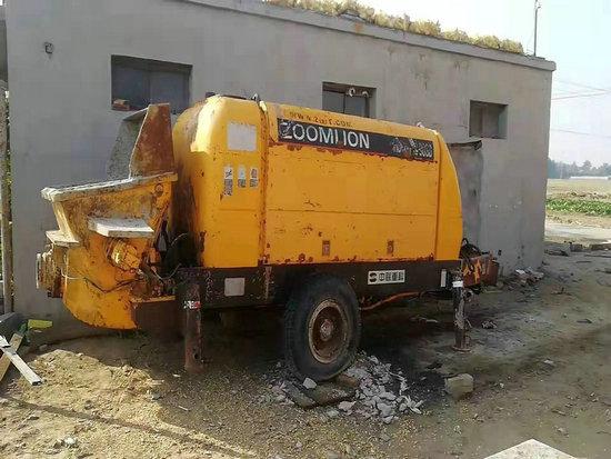 二手泵机二手回收(钟祥)煤矿混凝土输送泵