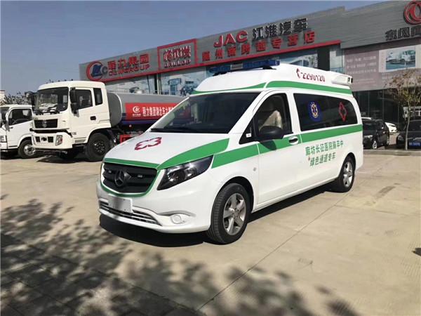青海省网红车型福特母婴救护车售后无忧