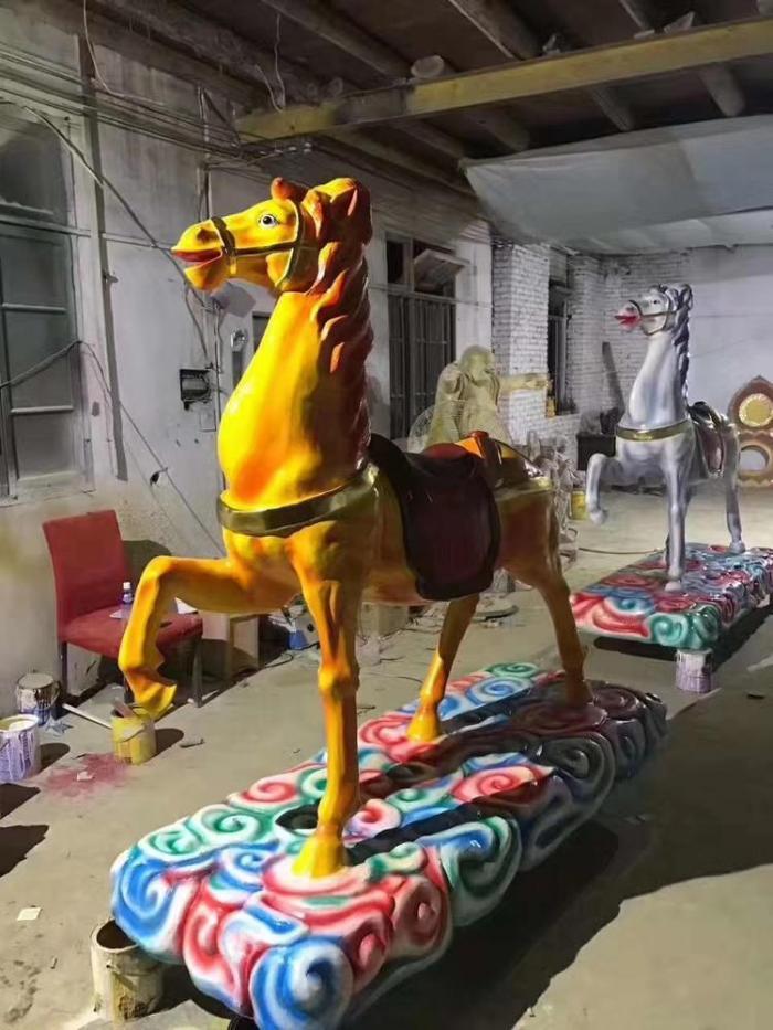 仿铜马夫雕塑-实景图-上海锻造马夫雕塑厂家
