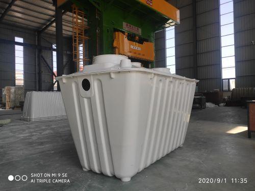 南京一体式三格化粪池厂家生产工艺