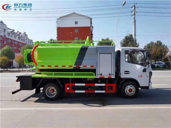 解放国六8吨管道高压疏通抽粪净化车厂家