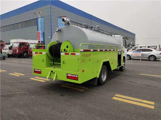 福田国六8吨化粪池高压疏通吸污净化车车型