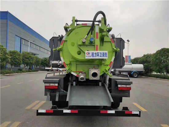 东风国六5方下水道吸污污泥净化车价格