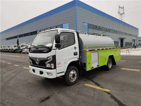 东风国六5吨下水道抽粪污水净化车厂家