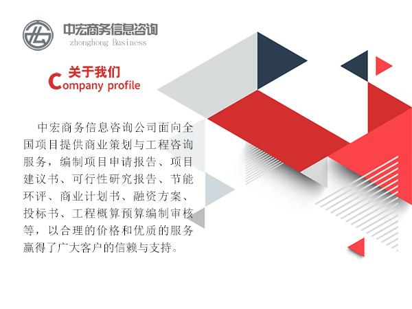 清远市项目写商业计划书代写构思
