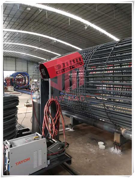 吉安钢筋笼绕丝机链条不套圈