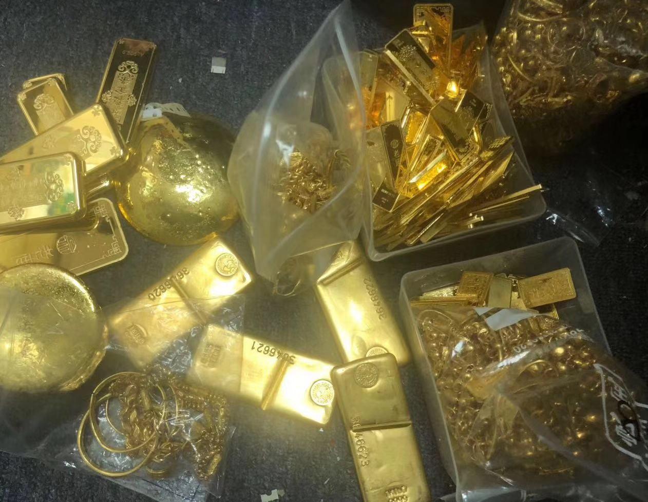 静安高价回收周大福黄金买的的金条回收价格多少钱一克