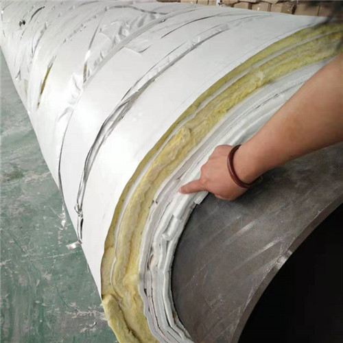 钢套钢蒸汽玻璃棉保温管定做哈巴河