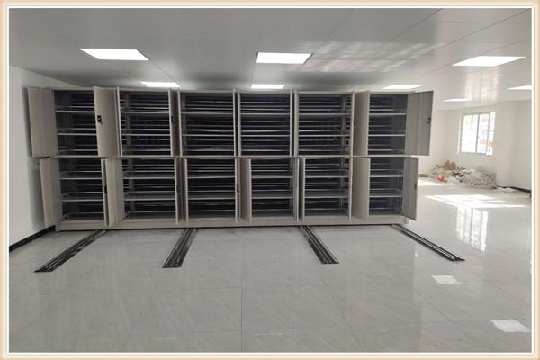 新干档案室三化一体密集柜【调试】