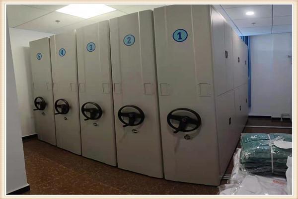 优选:泽信柜业电动智能移动密集架桦甸双柱